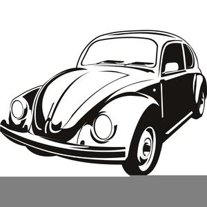 Free Vw Beetle Clipart.