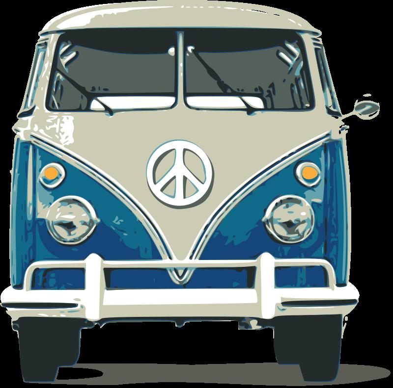 Free Clipart: VW Bulli.