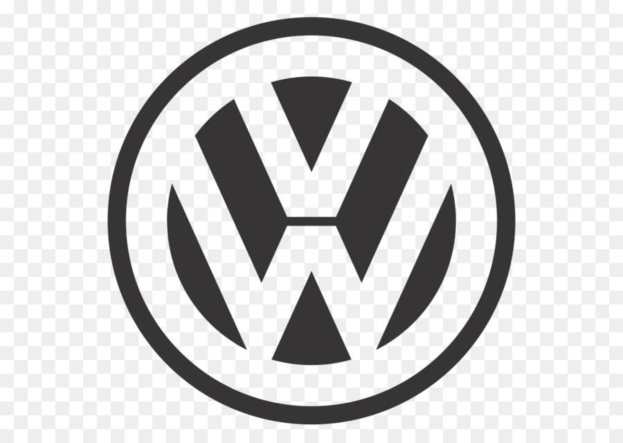 Volkswagen Logo clipart.