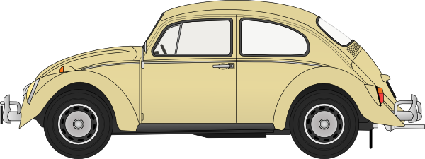 Vintage Vw Bug Clip Art at Clker.com.
