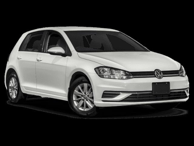 New 2019 Volkswagen Golf S.