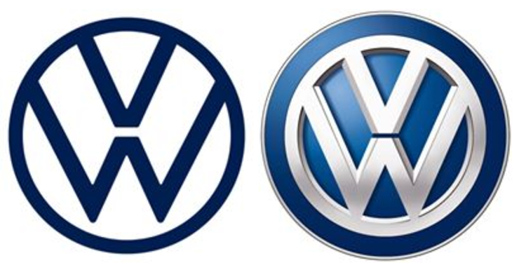 Volkswagen Changes Logo, Image to Make it Look \'Friendlier.