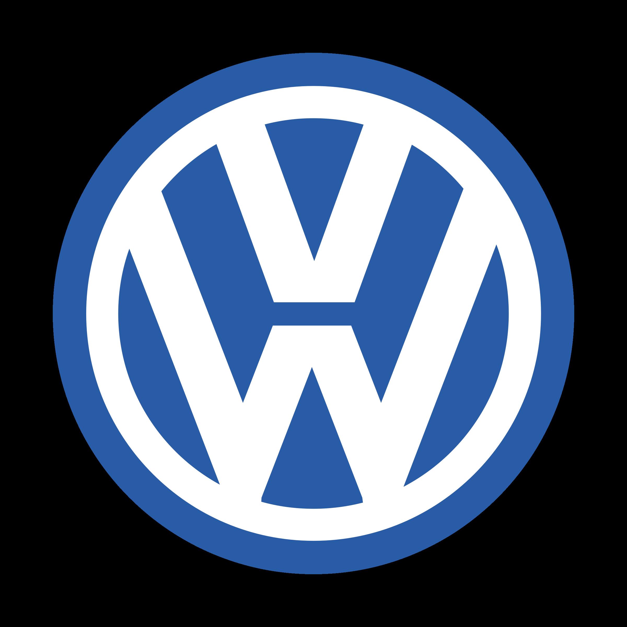 Volkswagen Logo PNG Transparent & SVG Vector.