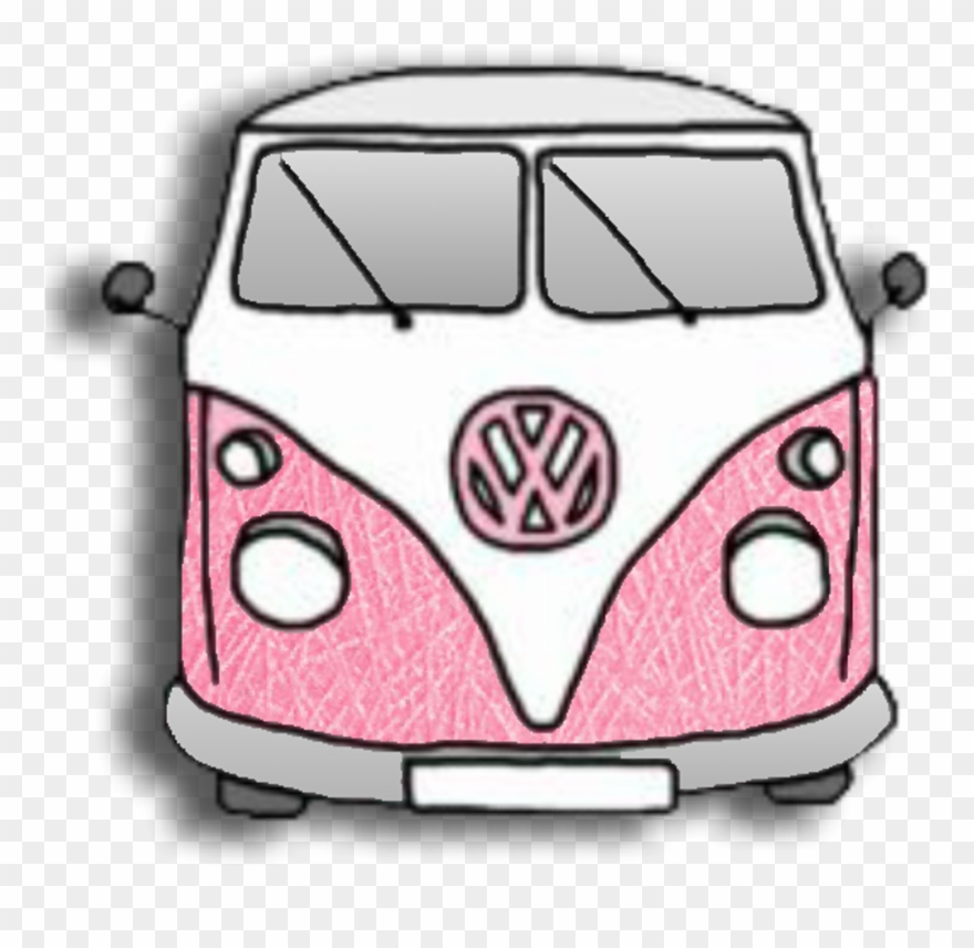 Volkswagenbus Volkswagen Van Vehicle Germancars Bus Clipart.