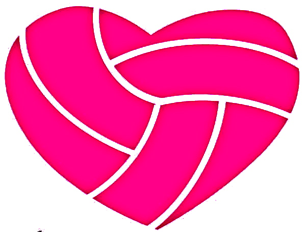 Volleyball heart clipart 5 » Clipart Station.