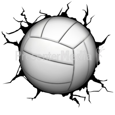 Crack Wall Volleyball.