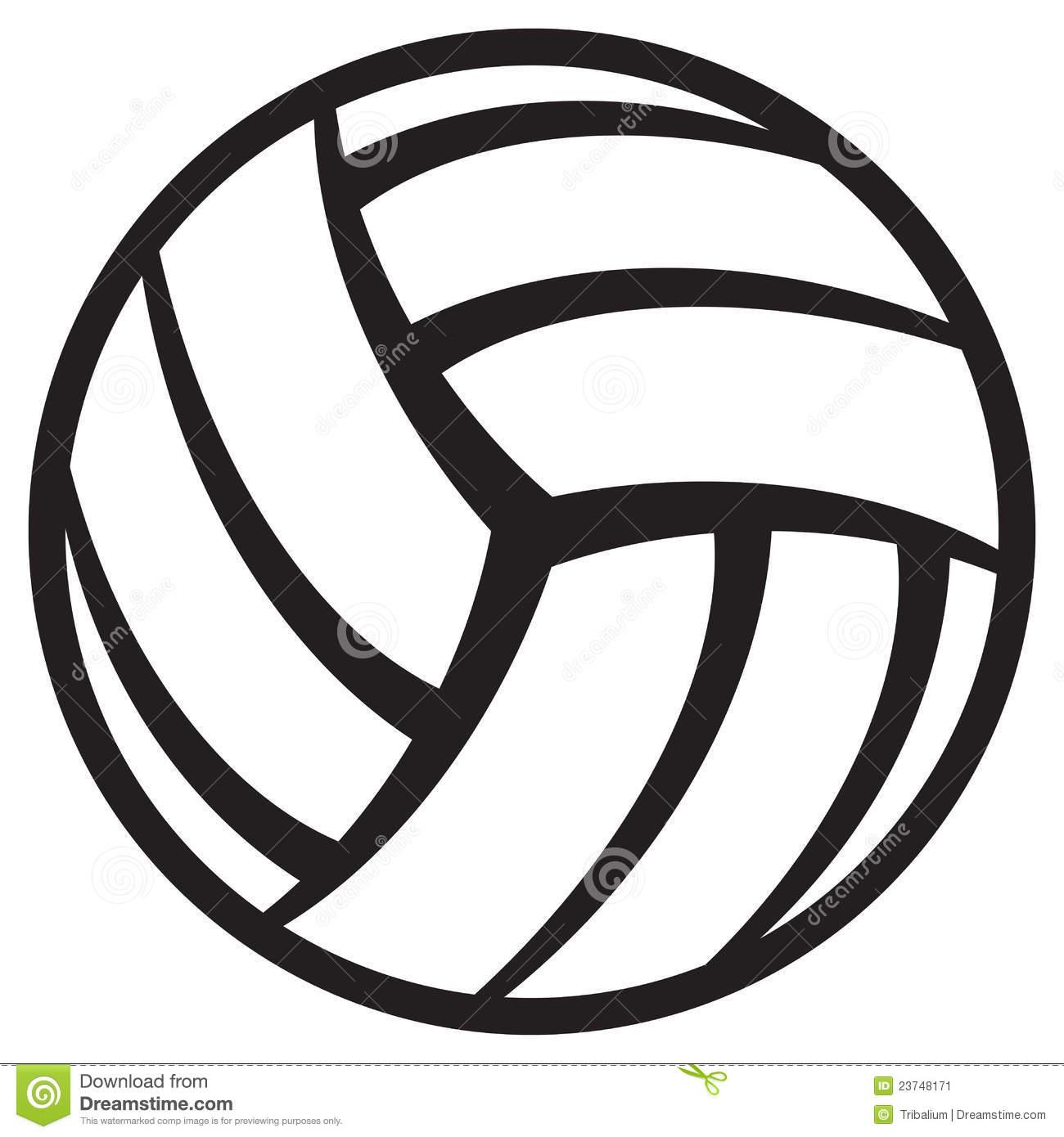 Volley ball clip art.