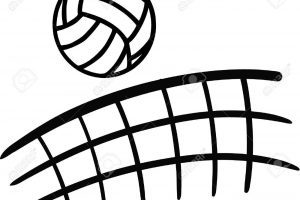 Volleyball net clipart 1 » Clipart Portal.