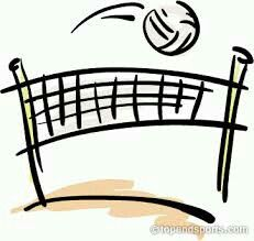 Cute Volleyball Clipart.