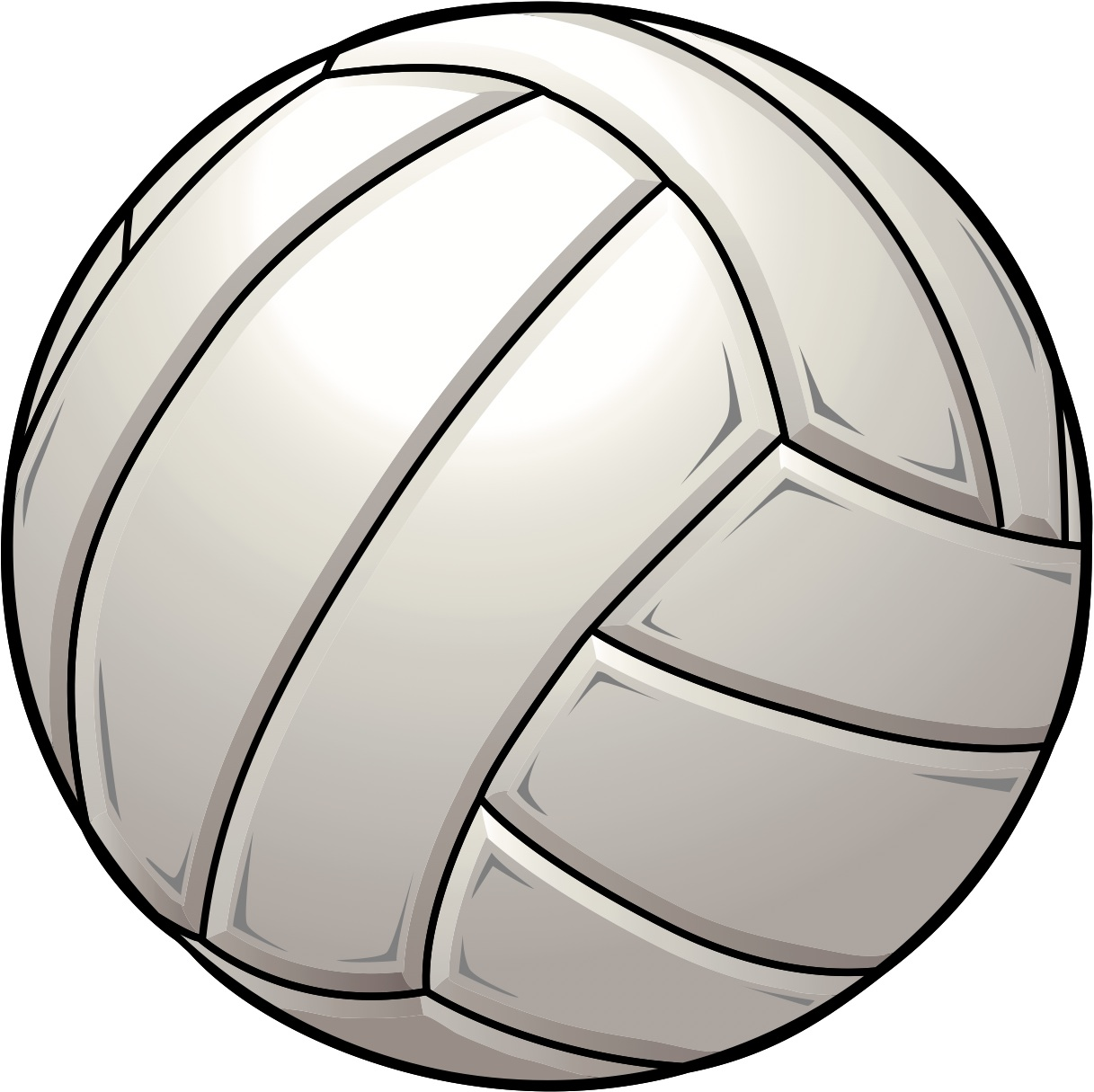 Volleyball ball clip art.