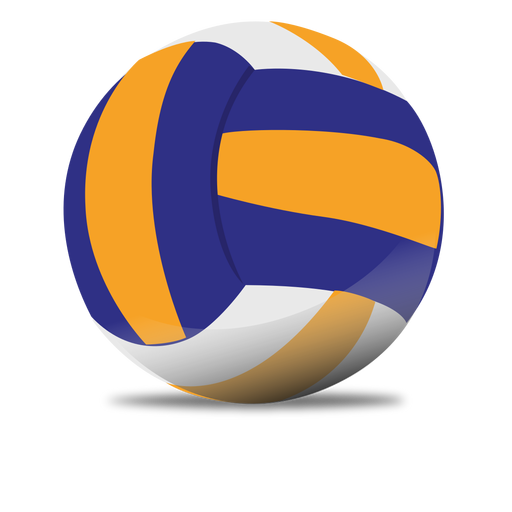 VolleyBall PNG Image.