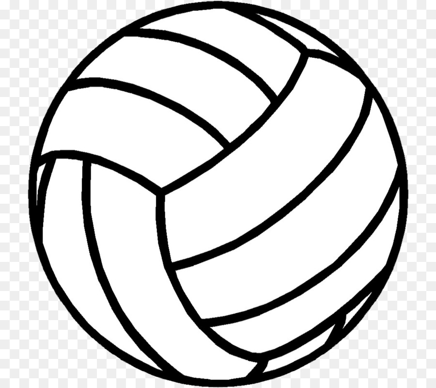 Volleyball black and white clipart 4 » Clipart Station.