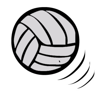 Volleyball Free Clipart.