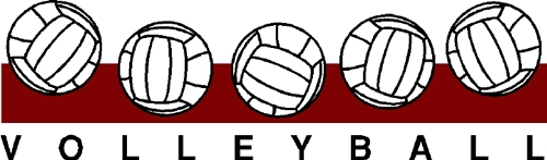 Volleyball Border Clipart Group with 87+ items.