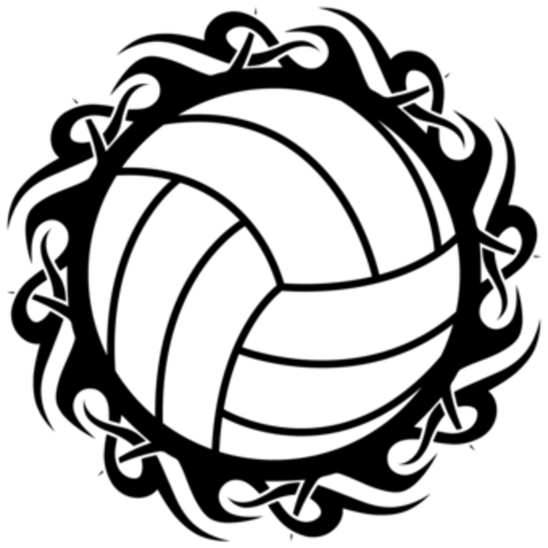 Free Volleyball Border Clipart, Download Free Clip Art, Free Clip.