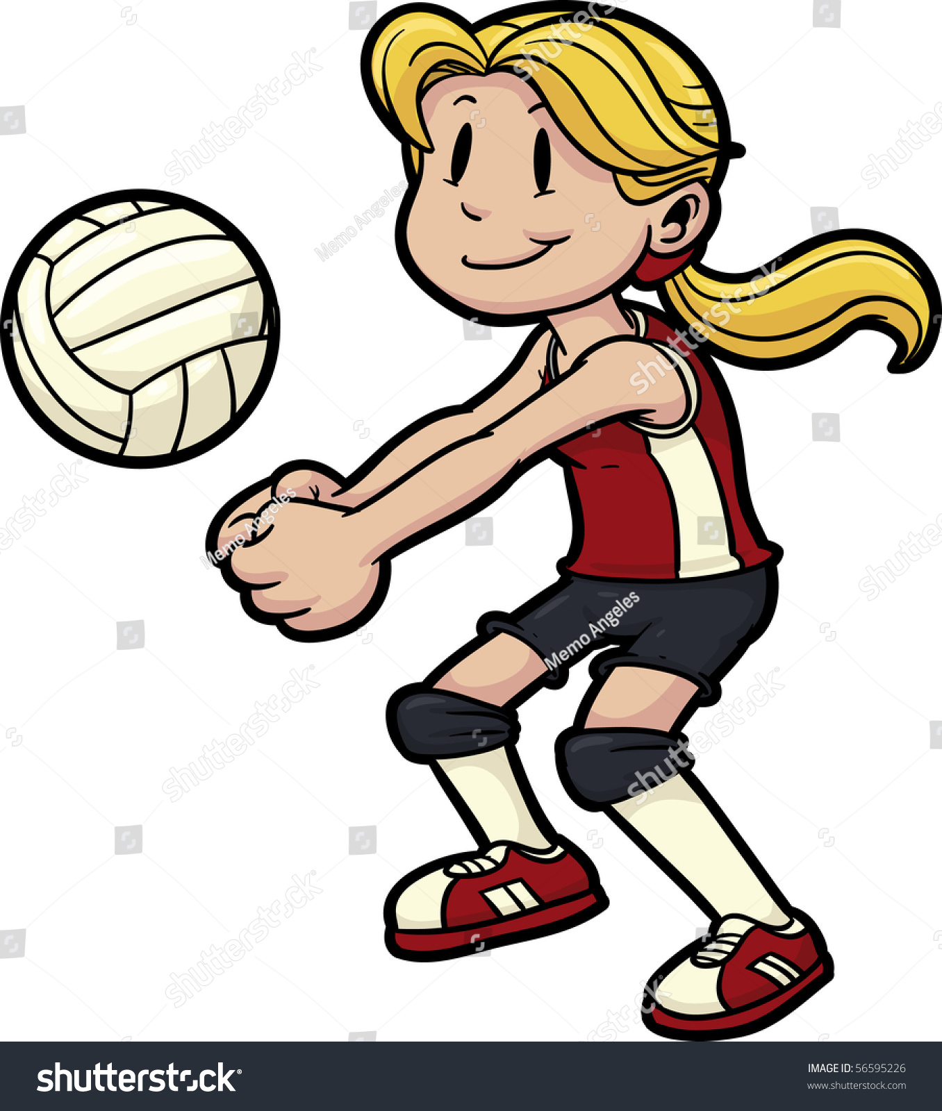 Clipart volleyball cartoon, Clipart volleyball cartoon.