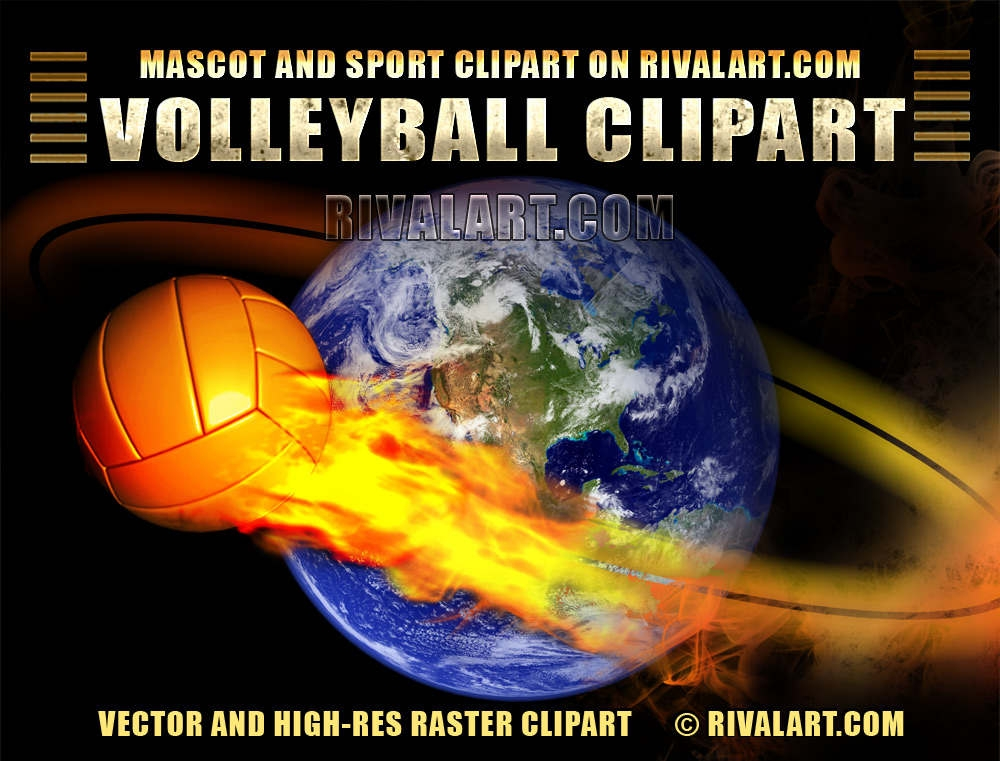 Volleyball Clipart High Resolution.