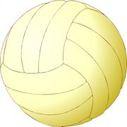 Volleyball Clip Art, Vector Volleyball.