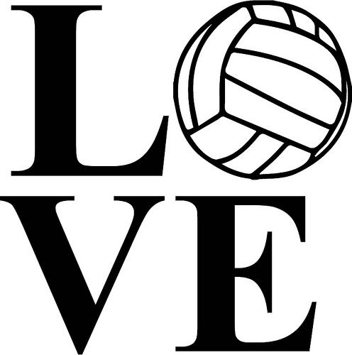 Love Volleyball.
