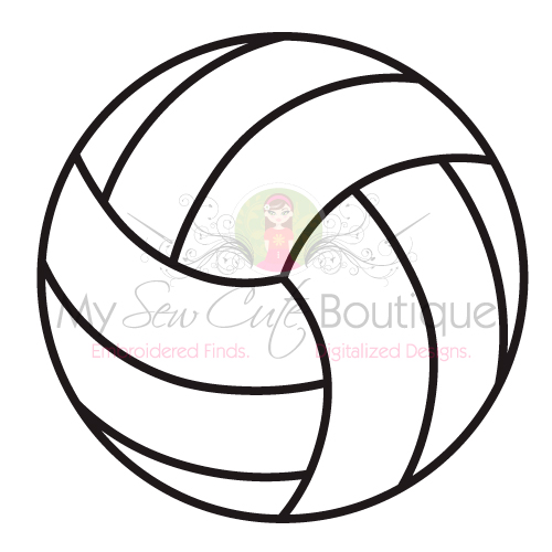 Volleyball SVG Files Cricut Sports DXF Team Clipart Designs.