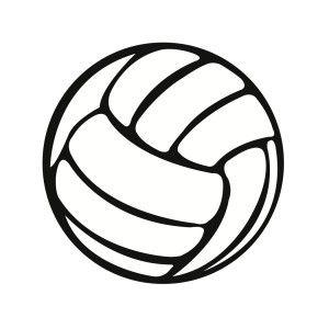 Freebee: SVG Volleyball File.