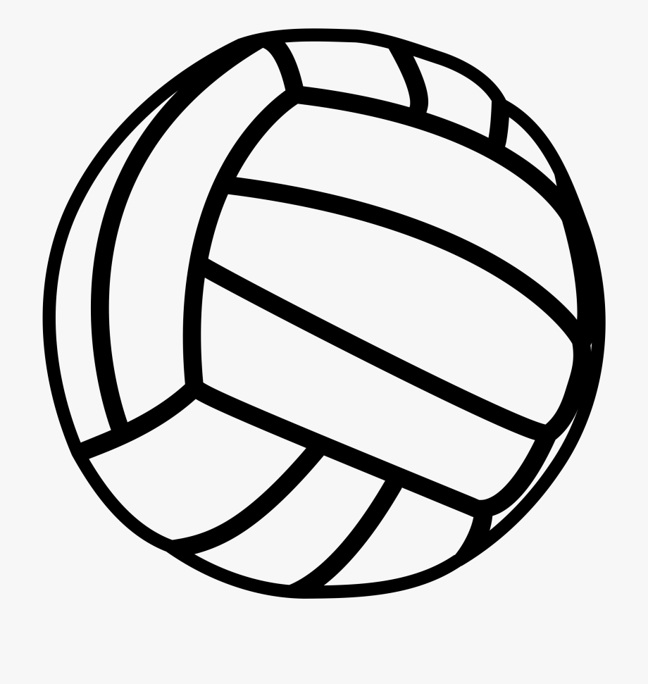Free Transparent Volleyball Clipart.