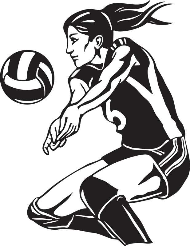 Volleyball dig clipart 7 » Clipart Portal.