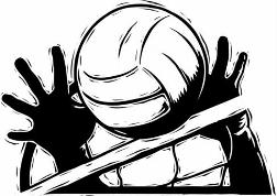 Volleyball clipart awesome and free volleyball court central 4.