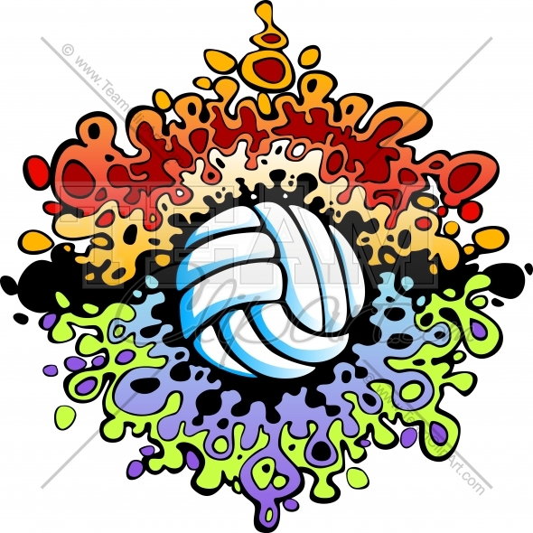 Clipart volleyball pictures.