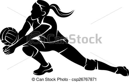 Showing post & media for Cartoon volleyball player diving.