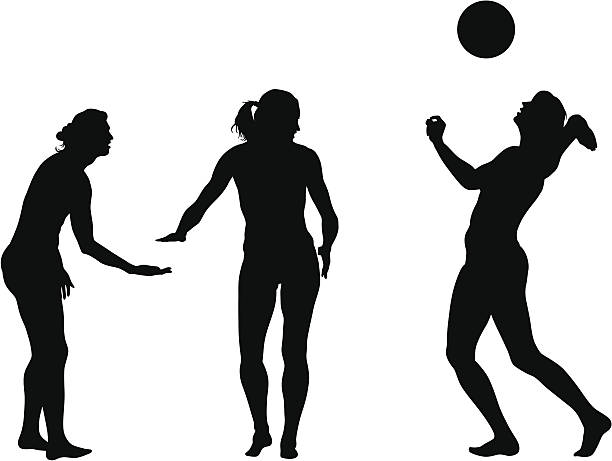 Volleyball Pass Clip Art, Vector Images & Illustrations.