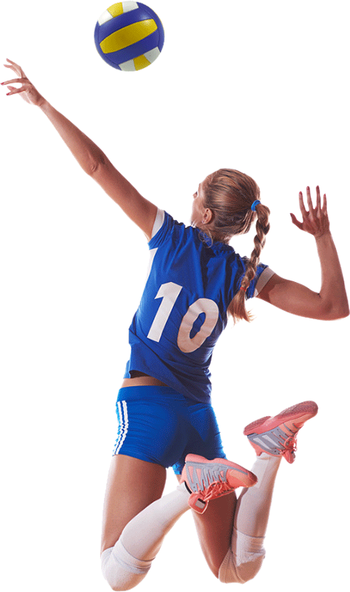Download Free png Volleyball girl PNG, Download PNG image with.