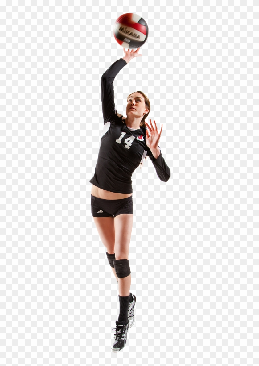 Volleyball Girl Png.