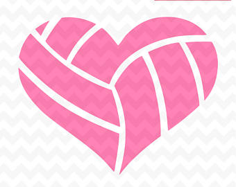 Volleyball heart clipart 3 » Clipart Station.