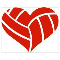 Free Volleyball Cliparts Heart, Download Free Clip Art, Free Clip.