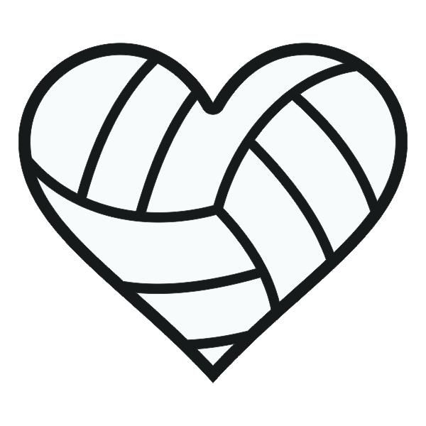 Hearts Clipart volleyball 3.