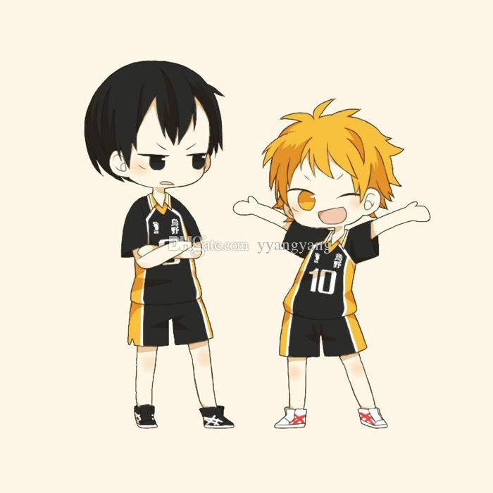 Anime Haikyuu!! Karasuno High School Volleyball Club Jersey Hinata.