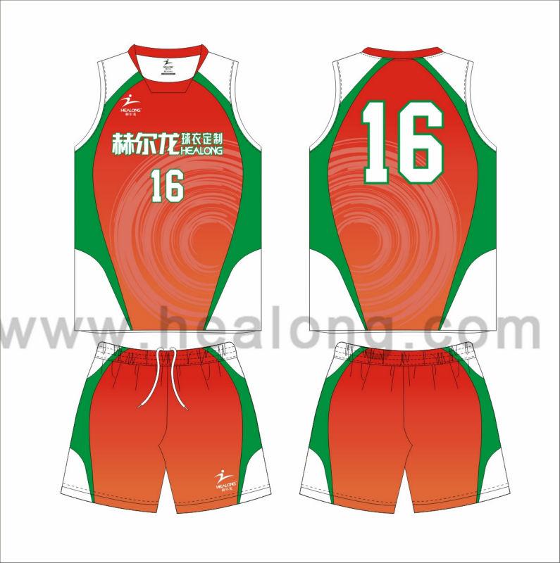 High Quality Custom Beach Volleyball Jersey.