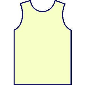 Volleyball Jersey Clip Art.