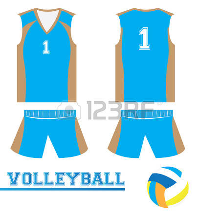 366 Volleyball Uniform Stock Vector Illustration And Royalty Free.
