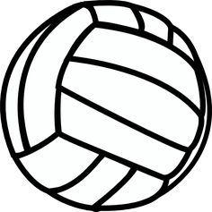 Volleyball jpg clipart 2 » Clipart Portal.