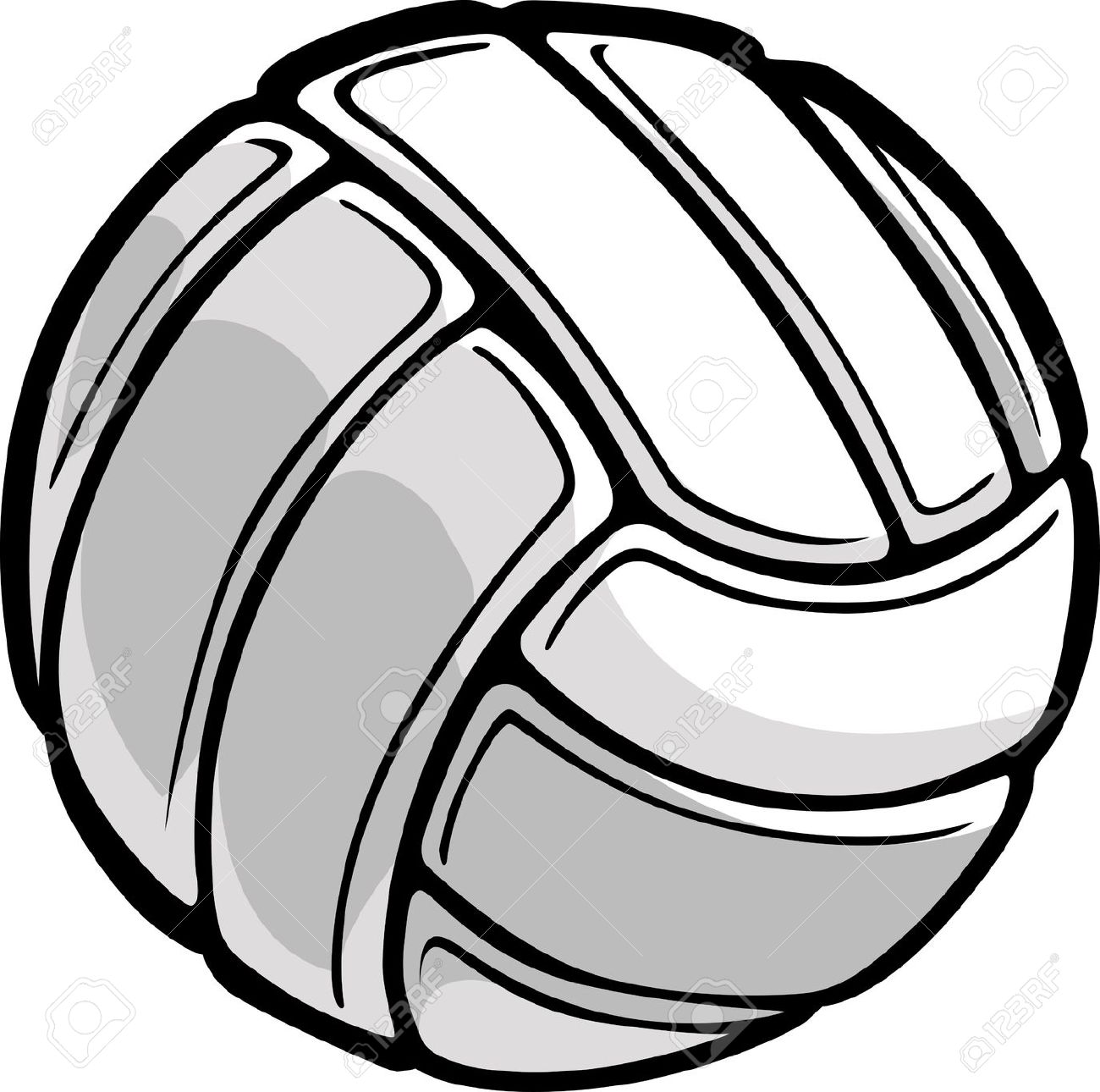 Volleyball Images Clip Art Volleyballspike #93085.