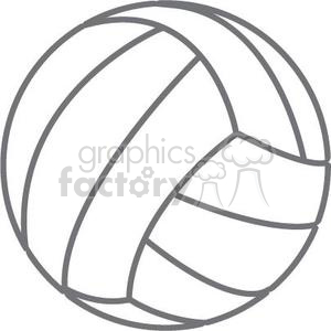 volleyball clipart. Royalty.