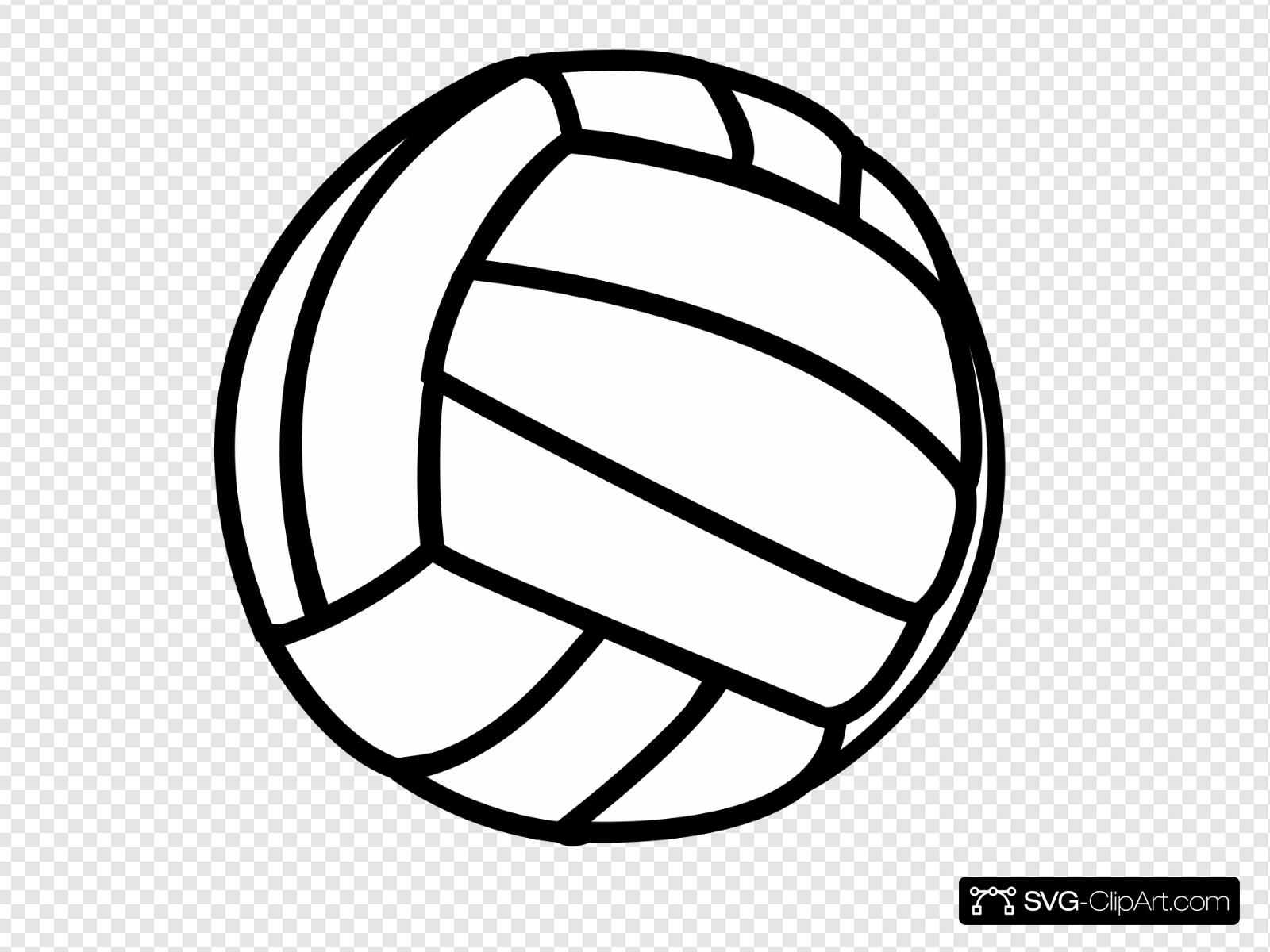 Volleyball Clip art, Icon and SVG.