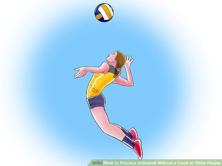 volleyball jump serve clipart - Clipground