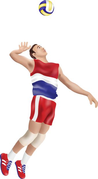 volleyball player clipart male 20 free Cliparts | Download ...