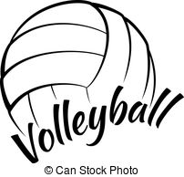 Volleyball logo clipart » Clipart Station.