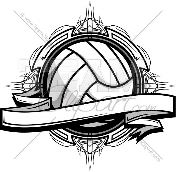 Volleyball Clipart Logo Clipart Image..