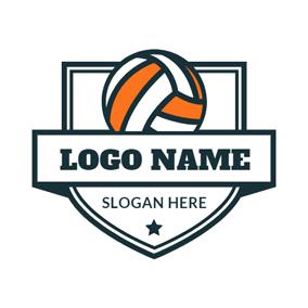 Free Volleyball Logo Designs.
