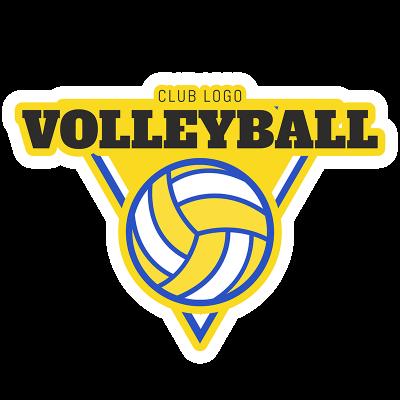 Volleyball Logo Maker.